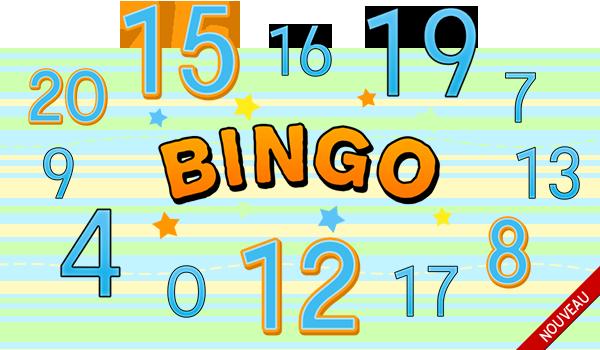 Jeux Sam Amuse Jeu de bingo pour apprendre les nombres en français